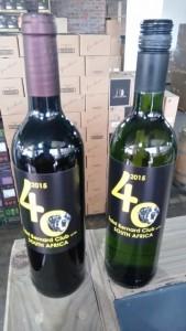 Anniversary wine.