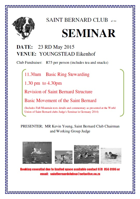 SAINT BERNARD Movement Seminar (4)