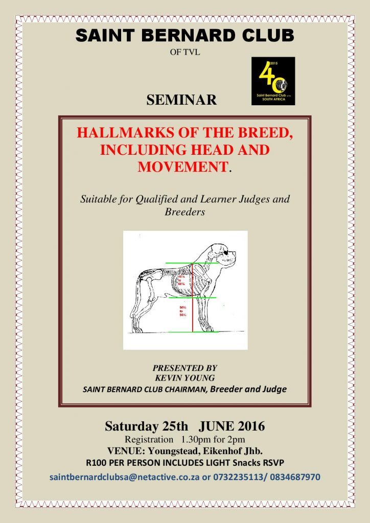 Saint Seminar June 2016