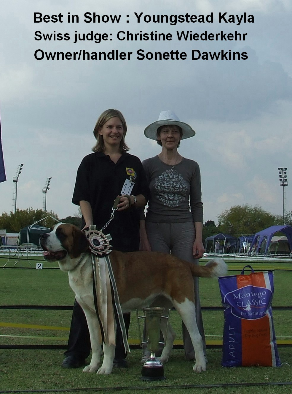 2007 Saint Bernard Champion Show Christine Wiederkehr Switzerland