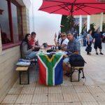 SA supporters